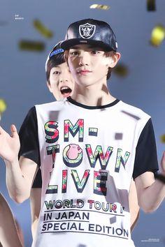 SM Rookies-NCT Taeyong : 150726 SM Rookies Taeyong at SMTown Concert in...