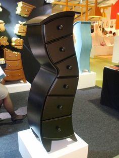 Dr. Seuss inspired dresser. So whimsical!