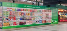 Woolworths launches virtual stores in Australia to promote mobile grocery shopping