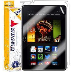[3-PACK] DeltaShield BodyArmor - Amazon Kindle Fire HDX 7 Screen Protector  #ScreenProtectors