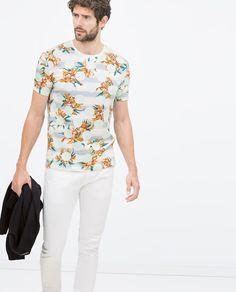 ZARA Man Spring/Summer 2015   design t-shirt: damn_desk