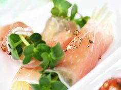 生ハムとクリームチーズのおつまみの画像 Tuna, Fish, Meat, Recipes, Foods, Food Food, Food Items, Pisces, Recipies