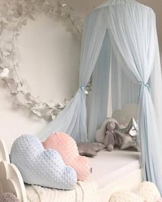 Able Baby Bed Mosquito Net Kids Bedding Round Dome Hanging Bed Canopy Curtain Chlildren Baby Room Decoration Crib Netting Tent Agreeable To Taste Mother & Kids