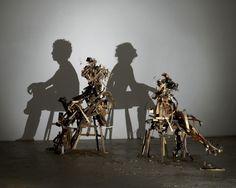 Shadowart by Tim Noble Sue Webster