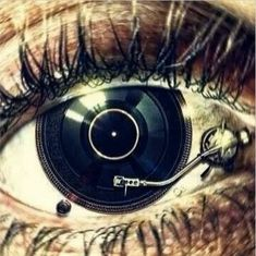 Eye of a DJ.