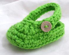 Baby Croc - Crochet