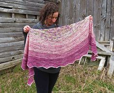 Ravelry: Mooncat Shawl pattern by Kelly McClure