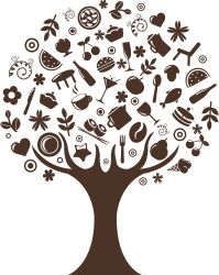 Clipart - Abstract Tree