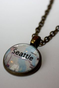 Necklace  Choose your City Necklace by StonesinBloom on Etsy, $16.00