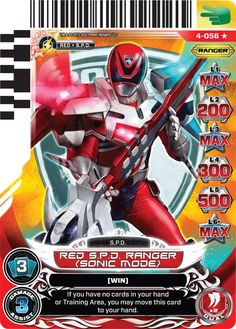 power rangers cards - Bing images