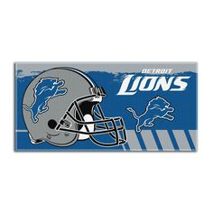 Use this Exclusive coupon code: PINFIVE to receive an additional 5% off the Detroit Lions NFL Game Plan Beach Towel at SportsFansPlus.com