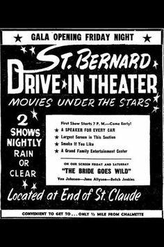 St. Bernard Drive-In Theater