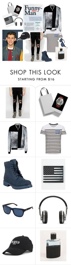 """""""Positive attitude"""" by explorer-14673103603 on Polyvore featuring Dark Future, Topman, Kenzo, Timberland, Buckle-Down, Polo Ralph Lauren, Master & Dynamic, American Fighter, men's fashion and menswear"""