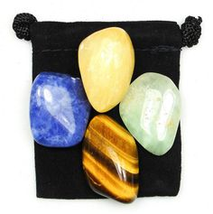 EDUCATION Student Support Tumbled Crystal Healing Set 4