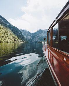 Boat ride on lake Königssee, Germany  (@jannikobenhoff)