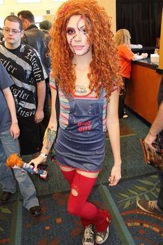 The 30 Best Chucky Killer Doll Costumes Chucky Halloween, Looks Halloween, Halloween Cosplay, Halloween Season, Halloween Costumes, Halloween 2018, Halloween Ideas, Halloween Zombie, Women Halloween