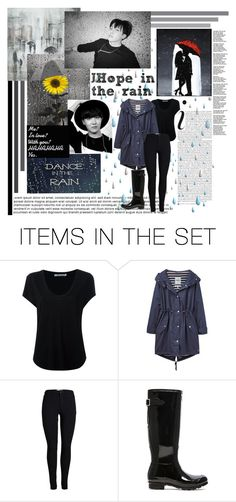 """""""J-Hope in the rain"""" by shook-squad ❤ liked on Polyvore featuring art"""