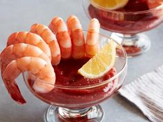 Get Shrimp Cocktail with Horseradish Cocktail Sauce Recipe from Food Network Cocktail Sauce, Cocktail Recipes, Cocktails, Cocktail Food, Antipasto, Shrimp Recipes, Sauce Recipes, Shellfish Recipes, Top Recipes