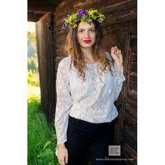 100% handmade embroidery - romanian blouse - bohemian fashion - folklore - folk costumes