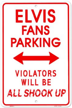 Elvis Tin Sign at AllPosters.com