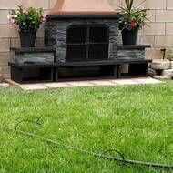 Quillen Steel Wood Burning Outdoor Fireplace In 2020 Outdoor Decor Yard Wood