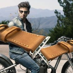 For those with character. Authentic leather Straps handmade by Bettél Design. Now in promotion! Let's ride!