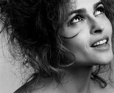 Helena Bonham Carter  I believe she is the most gorgeous person alive.