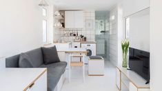 Rooftop micro apartment in Beirut packs everything into 16 square metres