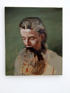 "michael borremans, ""eating the beard"""