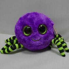 New Beanie Boos, Ty Beanie, Ty Stuffed Animals, Stuffed Toy, Halloween Beanie Boos, Lorax Trees, Maria Clara, Black Spider, Fancy Nancy