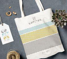 Copitos, bolsas de tela Reusable Tote Bags, Packaging, Corporate Identity, Fabric Handbags, Bags, Wrapping