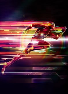 Photoshop inspiration alternate flash dc comics suit redesign fan art