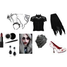 Black Bride Black Bride, Alternative Outfits, Polyvore, Stuff To Buy, Design, Women, Fashion, Moda, Fashion Styles