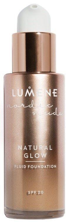 Lumene Nordic Nude Natural Glow Fluid Foundation SPF 20 6 Tan | Lyko.se