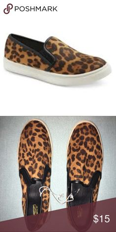 Mossimo leopard print Vans like slip ons size 11 Mossimo leopard print Vans like slip ons size 11. Never worn just have what looks like wear from being in store and tried on maybe. Mossimo Supply Co. Shoes Sneakers