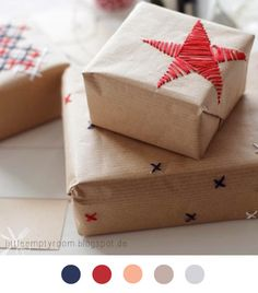 Christmas Gift - Star - Craft - DIY Fête De Noël - Cadeau - Tuto - Tutoriel - Sew - Couture -