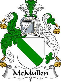 IrishGathering - The McKinley Clan Coat of Arms (Family Crest) and History. Tartan, Irish Coat Of Arms, Family Shield, Family Crest, Crests, Ancestry, Family History, Family Genealogy, History Medieval