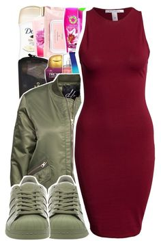 """UrbanDressContest"" by purplequeen04 ❤ liked on Polyvore featuring D. Brand, adidas and NLY Trend"
