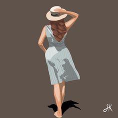Illustration Artists, Digital Illustration, Inside The Box, I Missed, Feel Like, Boss Lady, Summer Vibes, Illustrator, Artworks