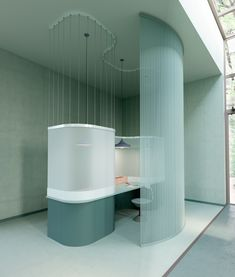 design of a co-working space by Polish architect Zuzana K – Desi… – Best Office Architecture Workspace Design, Office Workspace, Office Interior Design, Office Interiors, Corporate Office Design, Coworking Space, Commercial Design, Commercial Interiors, Retail Interior