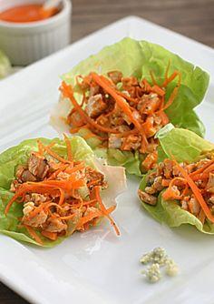 Buffalo Chicken Lettuce Wraps The Hopeless Housewife