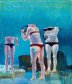 Eyes without voice, 1971-72, CREMONINI LEONARDO
