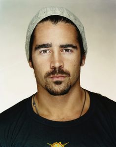 Collin Farrell. One of the only few men that I think can fully pull off a beanie.