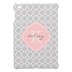 >>>Cheap Price Guarantee          	Gray & Pink Modern Quatrefoil Custom Monogram iPad Mini Cover           	Gray & Pink Modern Quatrefoil Custom Monogram iPad Mini Cover We provide you all shopping site and all informations in our go to store link. You will see low prices onThis Deals  ...Cleck Hot Deals >>> http://www.zazzle.com/gray_pink_modern_quatrefoil_custom_monogram_ipad_mini_case-256834464775074381?rf=238627982471231924&zbar=1&tc=terrest
