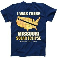 I Was There Missouri Solar Eclipse 2017 T-Shirt Shop I Was There Missouri Solar Eclipse 2017 T-Shirt custom made just for you. Available on many styles, sizes, and colors.