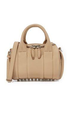 ace83f4579 ALEXANDER WANG Mini Rockie Duffel Bag.  alexanderwang  bags  shoulder bags   hand bags  leather