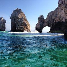 Coves in Cabo San Lucas, Mexico.