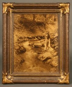 Edward Curtis orotone, The Maid of Dreams, 1909 - Image 3