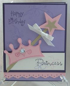 Princess Birthday by tayransom - Cards and Paper Crafts at Splitcoaststampers