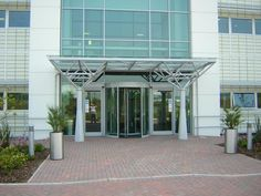 Google Image Result for //.clovis-canopies.com/ & Here a cantilevered steel entrance canopy provides a sheltered ...